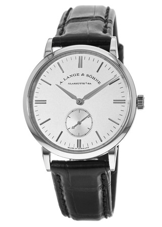 A. Lange & Sohne Saxonia Manual Wind 35mm Unisex Watch 219.026
