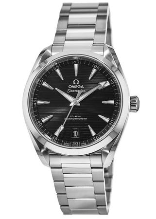 Omega Seamaster Aqua Terra 150m Master Co-Axial Chronometer 41 MM Stainless Steel Men's Watch 220.10.41.21.01.001