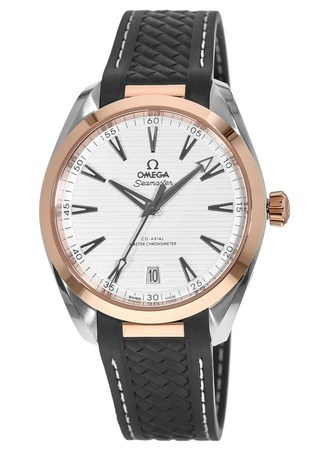 Omega Seamaster Aqua Terra 150m Master Co-Axial Chronometer 41 MM Steel And Rose Gold Men's Watch 220.22.41.21.02.001