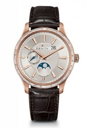 Zenith Captain Moon Phase  Men's Watch 22.2141.691/01.C498
