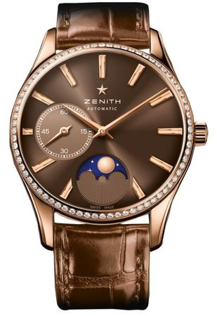 Zenith Heritage Lady Ultra Thin Moon Phase  Women's Watch 22.2310.692/75.C709