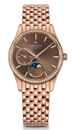 Zenith Heritage Lady Ultra Thin Moon Phase  Women's Watch 22.2310.692/75.M2310
