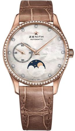 Zenith Heritage Lady Ultra Thin Moon Phase  Women's Watch 22.2310.692/81.C709