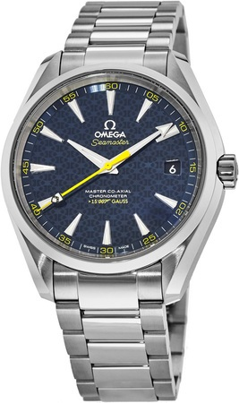 "Omega Seamaster Aqua Terra 150m Master Co-Axial ""James Bond SPECTRE Limited Edition"" XXX/15,007 Men's Watch 231.10.42.21.03.004"