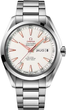 Omega Seamaster Aqua Terra Automatic Chronometer Annual Calendar  Men's Watch 231.10.43.22.02.003