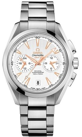 Omega Seamaster Aqua Terra 150m GMT Chronograph Men's Watch 231.10.43.52.02.001