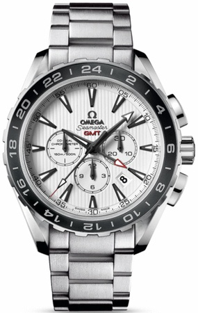Omega Seamaster Aqua Terra Chronograph GMT  Men's Watch 231.10.44.52.04.001