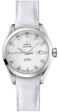 Omega Seamaster Aqua Terra Automatic Chronometer 34mm  Women's Watch 231.13.34.20.55.001