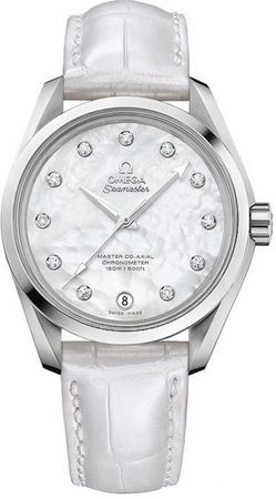 Omega Seamaster Aqua Terra 150m Master Co-Axial  Women's Watch 231.13.39.21.55.002