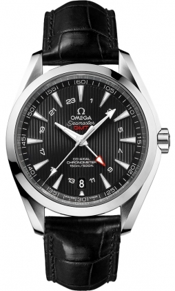 Omega Seamaster Aqua Terra 150m GMT  Men's Watch 231.13.43.22.01.001