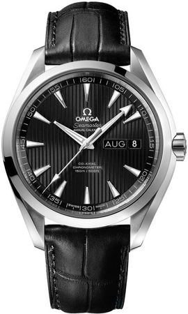 Omega Seamaster Aqua Terra Automatic Chronometer Annual Calendar  Men's Watch 231.13.43.22.01.002