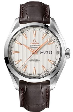 Omega Seamaster Aqua Terra Automatic Chronometer Annual Calendar  Men's Watch 231.13.43.22.02.003