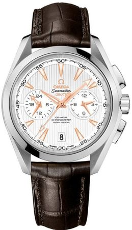 Omega Seamaster Aqua Terra 150m GMT Chronograph Men's Watch 231.13.43.52.02.001