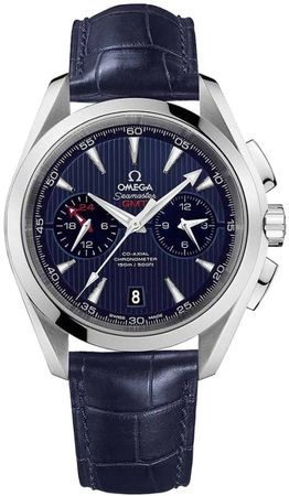 Omega Seamaster Aqua Terra 150m GMT Chronograph Men's Watch 231.13.43.52.03.001