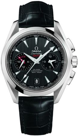 Omega Seamaster Aqua Terra 150m GMT Chronograph Men's Watch 231.13.43.52.06.001