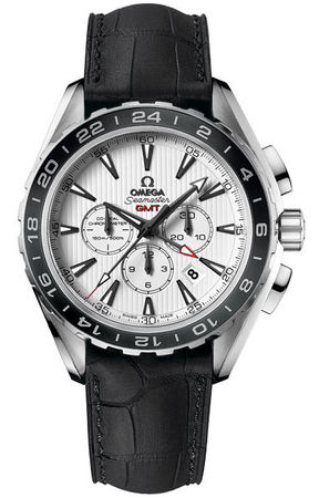 Omega Seamaster Aqua Terra Chronograph GMT  Men's Watch 231.13.44.52.04.001