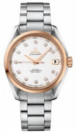 Omega Seamaster Aqua Terra Automatic Chronometer 38.5mm  Unisex Watch 231.20.39.21.52.003