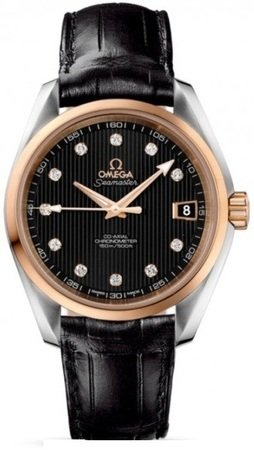 Omega Seamaster Aqua Terra Automatic Chronometer 38.5mm  Unisex Watch 231.23.39.21.51.001