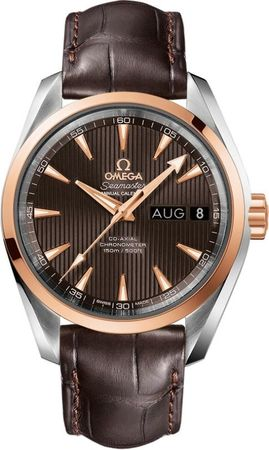Omega Seamaster Aqua Terra Automatic Chronometer Annual Calendar  Men's Watch 231.23.39.22.06.001