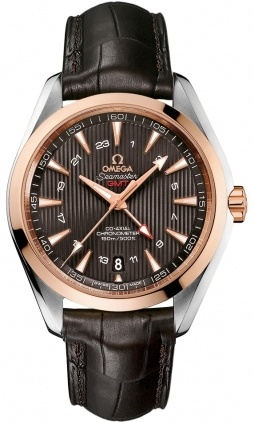 Omega Seamaster Aqua Terra 150m GMT  Men's Watch 231.23.43.22.06.001