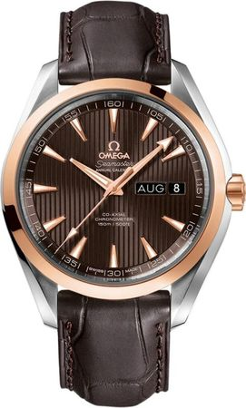 Omega Seamaster Aqua Terra Automatic Chronometer Annual Calendar  Men's Watch 231.23.43.22.06.002
