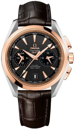 Omega Seamaster Aqua Terra 150m GMT Chronograph Men's Watch 231.23.43.52.06.001