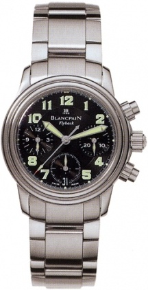 Blancpain Leman Automatic Chronograph  Women's Watch 2385F-1130-71