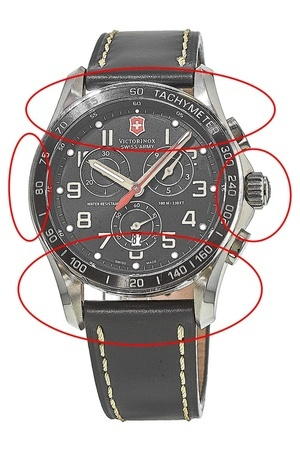 Victorinox Swiss Army Chrono Classic XLS   Men's Watch 241444-PO