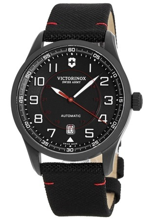 Victorinox Swiss Army Airboss  Mechanical Black Edition Men's Watch 241720