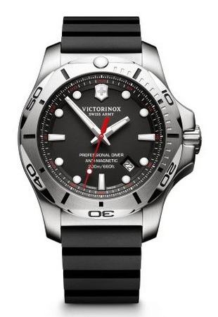Victorinox Swiss Army I.N.O.X. Professional Diver  Black Dial Men's Watch 241733