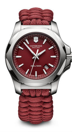 Victorinox Swiss Army I.N.O.X. Paracord  Red Dial Men's Watch 241744