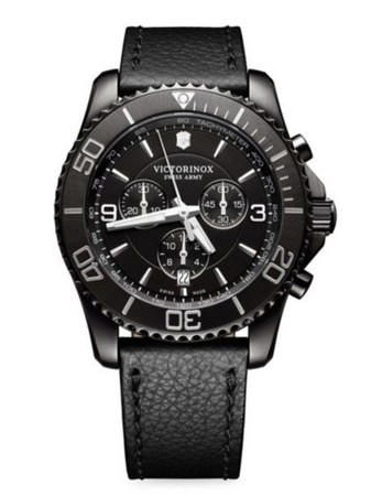 Victorinox Swiss Army Maverick Chronograph Black Men's Watch 241786