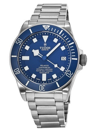 Tudor Pelagos  Blue Dial Automatic Titanium Men's Watch 25600TB