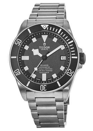 Tudor Pelagos  Automatic Black Dial Titanium Men's Watch 25600TN