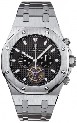 Audemars Piguet Royal Oak Tourbillon Chronograph  Men's Watch 25977ST.OO.1205ST.02