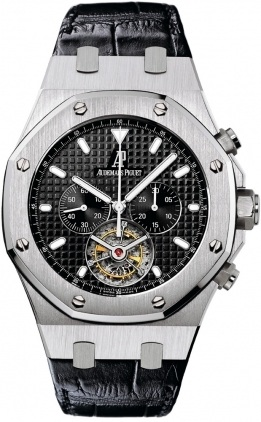 Audemars Piguet Royal Oak Tourbillon Chronograph  Men's Watch 25977ST.OO.D002CR.01