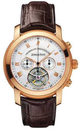 Audemars Piguet Jules Audemars Tourbillon Chronograph  Men's Watch 26010OR.OO.D088CR.01