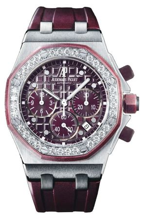 Audemars Piguet Royal Oak Offshore Chronograph  Women's Watch 26048SK.ZZ.D066CA.01