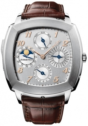 Audemars Piguet Classic Tradition Perpetual Calendar Minute Repeater Men's Watch 26052BC.OO.D092CR.01