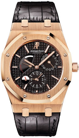 Audemars Piguet Royal Oak Dual Time Power Reserve Men's Watch 26120OR.OO.D002CR.01