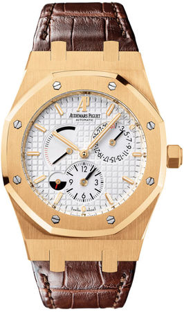Audemars Piguet Royal Oak Dual Time Power Reserve Men's Watch 26120OR.OO.D088CR.01