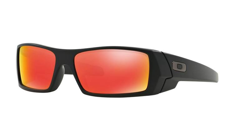 Oakley   Gascan Matte Black Ruby Iridium  Sunglasses 26-246