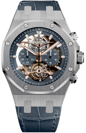 Audemars Piguet Royal Oak Tourbillon Chronograph  Men's Watch 26347PT.OO.D315CR.01