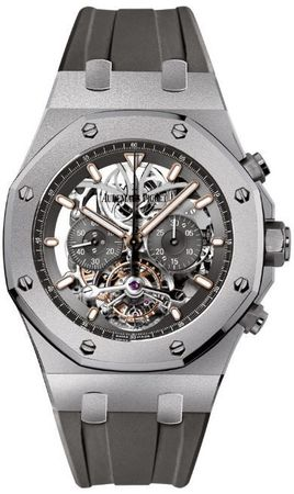 Audemars Piguet Royal Oak Tourbillon Chronograph  Men's Watch 26347TI.GG.D004CA.01