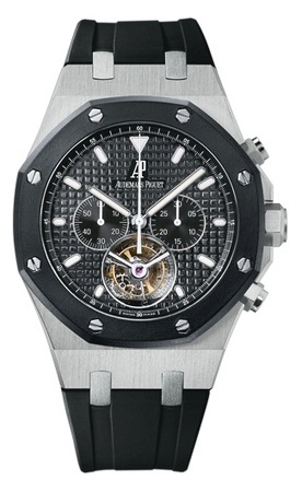 Audemars Piguet Royal Oak Offshore Tourbillon Chronograph  Men's Watch 26377SK.OO.D002CA.01