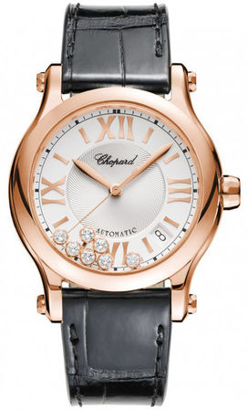Chopard Happy Sport Medium Automatic 36mm  Women's Watch 274808-5001