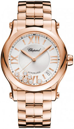Chopard Happy Sport Medium Automatic 36mm  Women's Watch 274808-5002