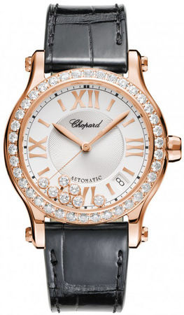 Chopard Happy Sport Medium Automatic 36mm  Women's Watch 274808-5003
