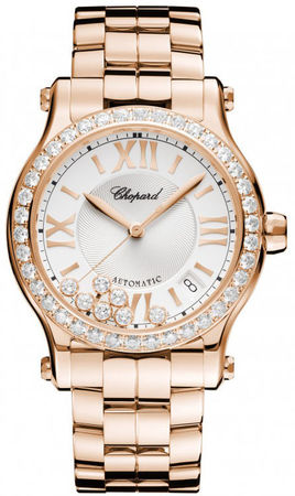 Chopard Happy Sport Medium Automatic 36mm  Women's Watch 274808-5004