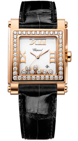 Chopard Happy Sport Square Medium  Women's Watch 275321-5002